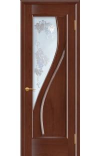 Даяна Покровские двери шпон массив сосны