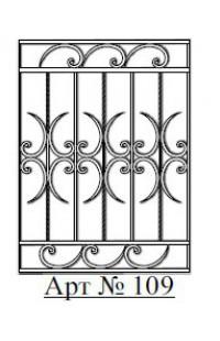 Решетка стальная Святогор для окон арт. 109