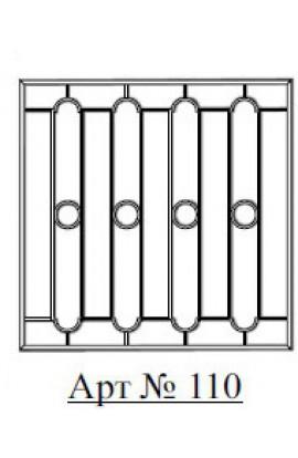 Решетка стальная Святогор для окон арт. 110