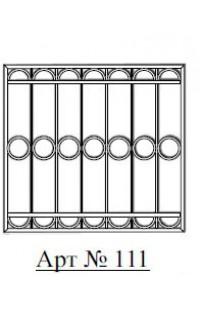 Решетка стальная Святогор для окон арт. 111