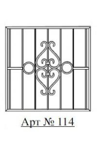 Решетка стальная Святогор для окон арт. 114