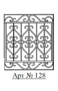 Решетка стальная Святогор для окон арт. 128