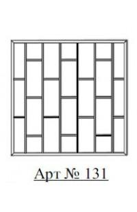 Решетка стальная Святогор для окон арт. 131