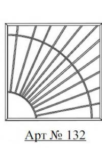 Решетка стальная Святогор для окон арт. 132