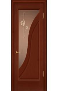 Аврора Покровские двери шпон массив сосны