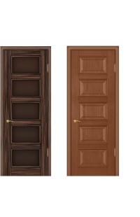 Барбара Покровские двери шпон массив сосны