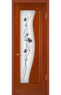Иллюзия 2 Покровские двери шпон массив сосны