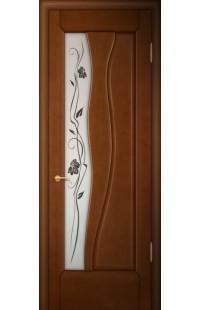 Иллюзион Покровские двери шпон массив сосны