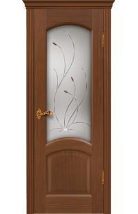 Леон Покровские двери шпон массив сосны