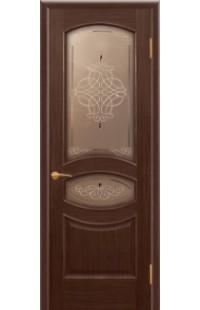 Офелия Покровские двери шпон массив сосны