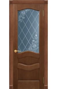 Орион Покровские двери шпон массив сосны