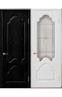 Верона Б Покровские двери шпон массив сосны