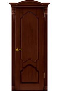 Виктория Покровские двери шпон массив сосны